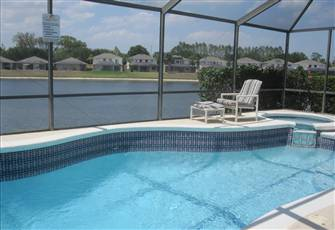 Sunset Vista Lakeside Villa Includes Pool & Spa Heat - Gated Community Nr Disney