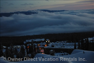 Big White Village above the Clouds
