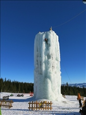 Ice Climbing Wall...For all Ages