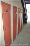 Private and Secure Metal Ski Lockers (Holds 10 Pairs), Just Steps to the Ski Run