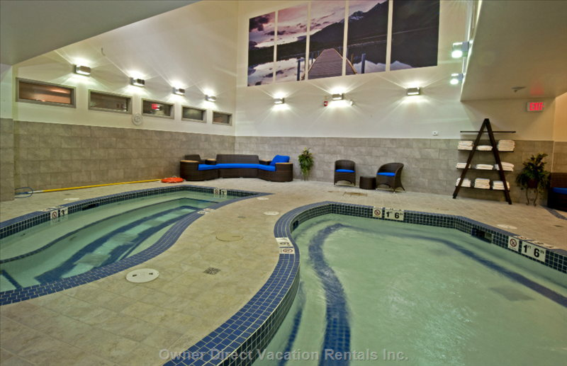 Indoor Relaxation Pools