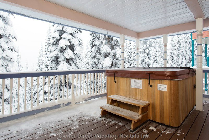 Enjoy Apre Ski in your Private Hot Tub