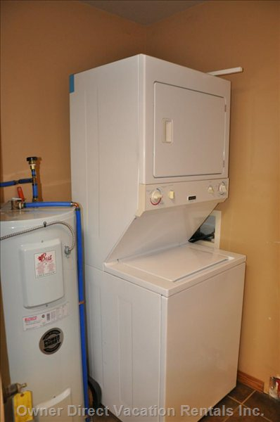 Full-Size Stacking Washer/Dryer