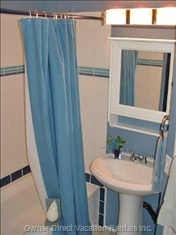 Bathroom with Great Storage Space