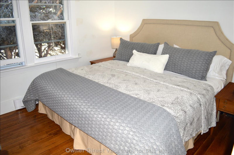 Second Bedroom has Large King Pillow Top Bed