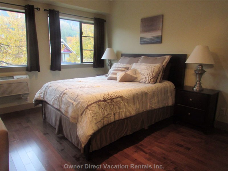 Queen Bed/with Double Bed Air Mattress If Needed!