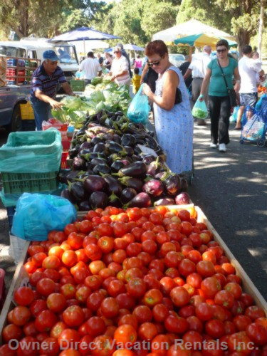 Market - Fruit and Vegetable Market Every Thursday,2 Min from the House
