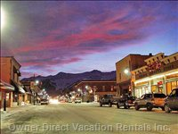 Town of Fernie (Night)