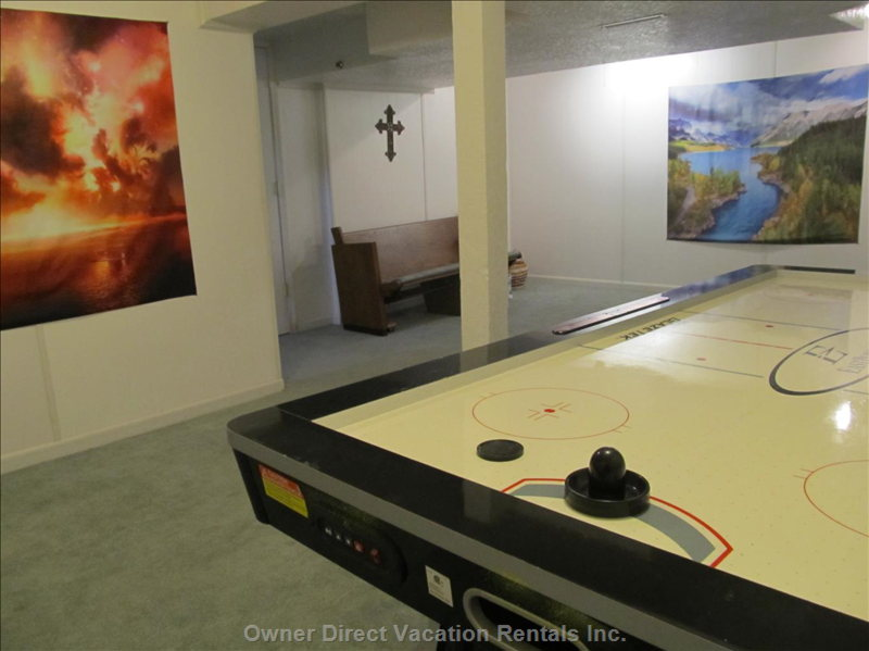 Basement Game Area