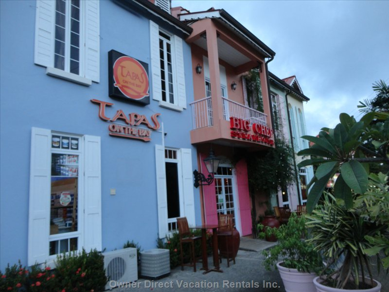 Big Chef Steakhouse and Tapas Restaurants, Rodney Bay.