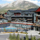 View of Lodges at Canmore