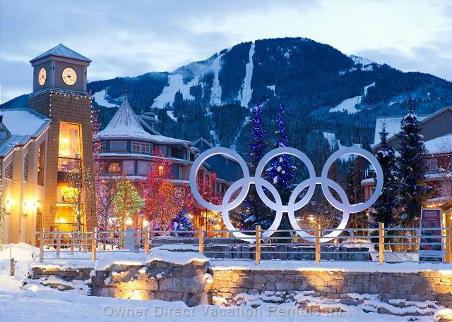 Whistler hosted the world during the 2010 Winter Olympic Games. Photo credit: #94324