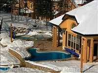 Cap Tremblant - Private Enclave - Hot Tubs and Pool - Cap Tremblant - Private Enclave - Hot Tubs and Pool