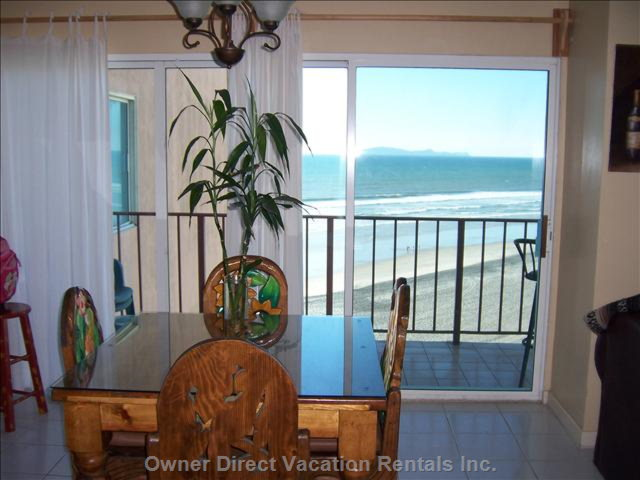 Dining Room Ocean View