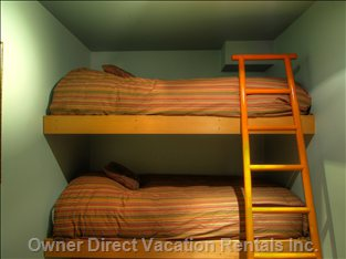 Fifth Bedroom, Bunks, Downstairs