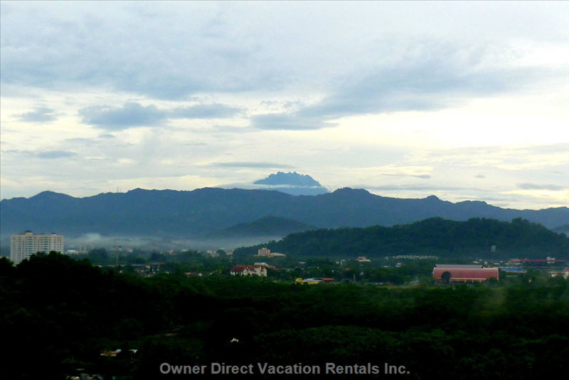 View of MT. Kinabalu - View of MT. Kinabalu from the Villa