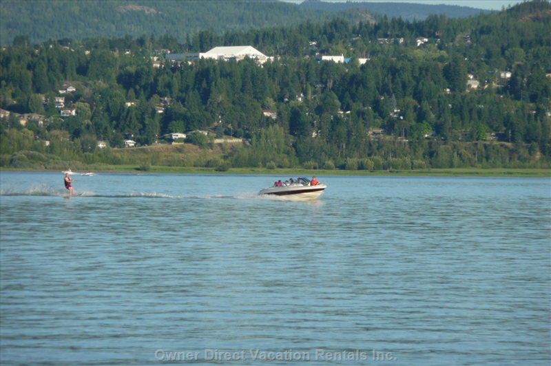 Enjoy Shuswap Lake and all the Outdoor Activities.  Boat, See-Doo, Kayak & Paddle-Board Rentals Nearby.