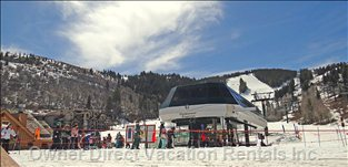 Several Utah Ski Hills Are a Short Drive Or Shuttlebus Ride Away!