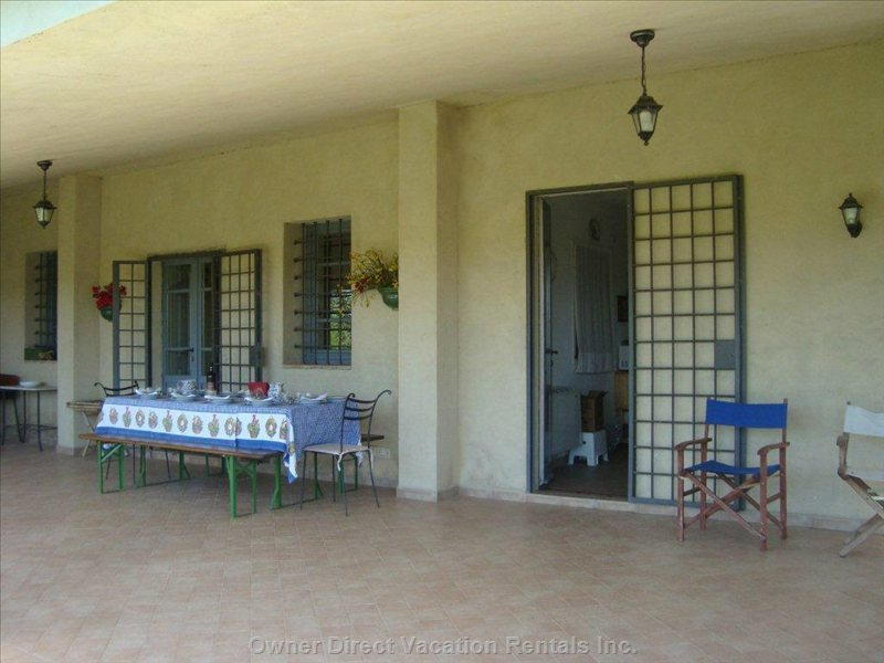 Porch of 53sqm beside the Garden