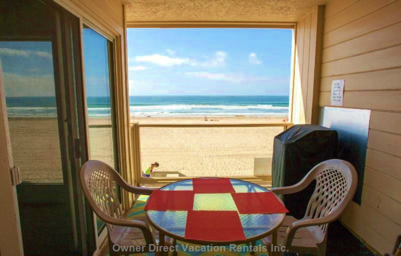Condo unit right on the ocean on San Diego's Pacific Beach boardwalk, ID#6534