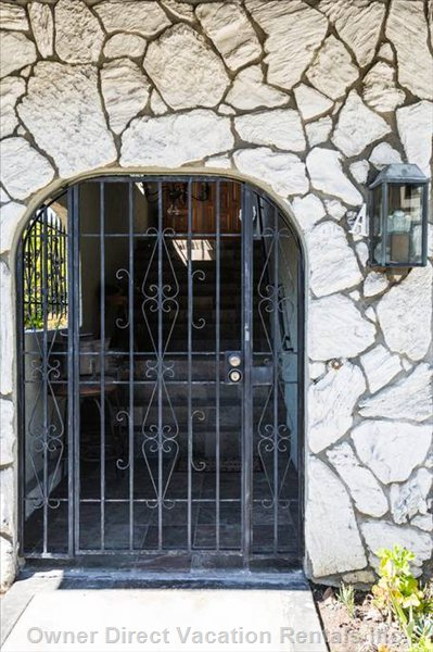 Gated Entry Way