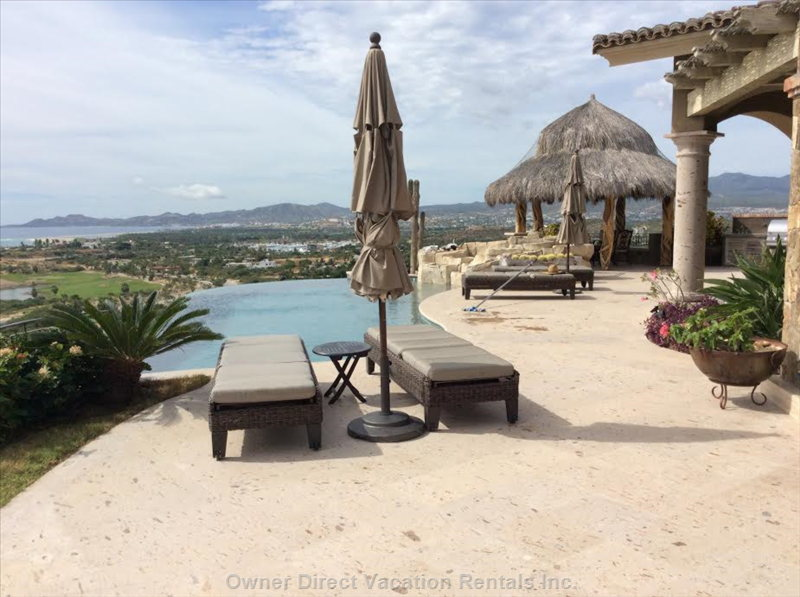 Palapa and Pool