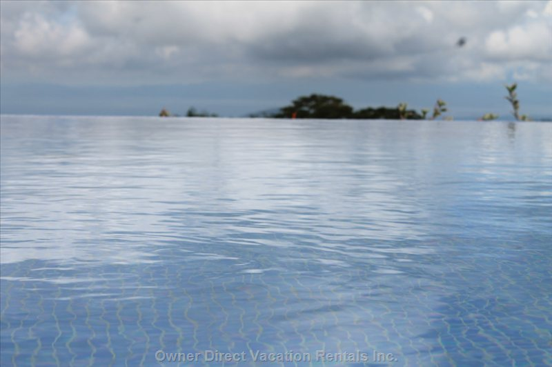 Salt Water Infinity Pool