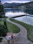 Pathway to Fire Pit and Dock's
