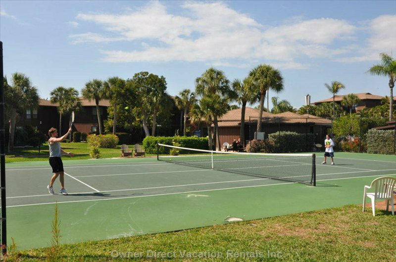 Free Tennis Available within a Short Walk to the 2 Large Tennis Courts.