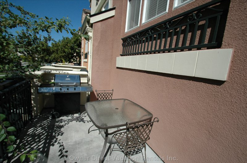 Patio, Table and Grill