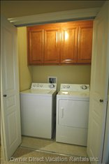 Washer/Dryer in Home