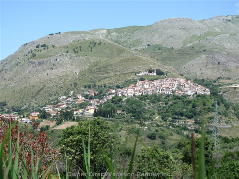 Santa Domenica Talao, our Friendly little Village