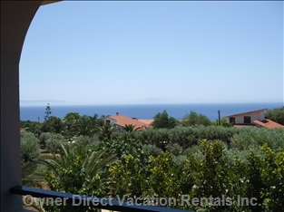 Balcony View Towards Sicily