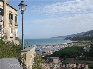 Tropea Harbour from the Cathedral Area