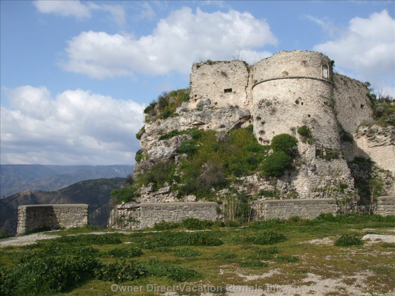 Norman Castle at Gerace