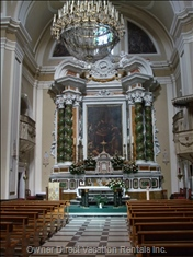 Church Interior Tropea