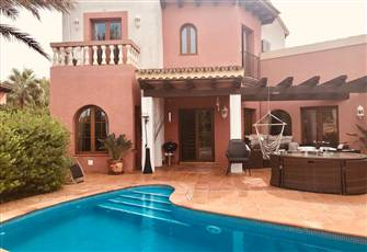 This Private, Detached Golf Villa is in Santa Ponca Close to the Beach & Town