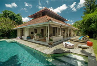 Spacious 3 Bdr Family Beach Villa Private Pool Garden, 2mn Walk to the Beach!