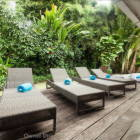 Loungers Await for you to Relax and Chill out by the Pool...