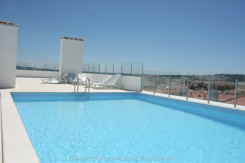 Swimming Pool on the Roof Terrace with Magnificent Views