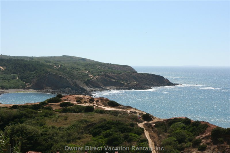 The Lovely Bay of Sao Martinho Do Porto