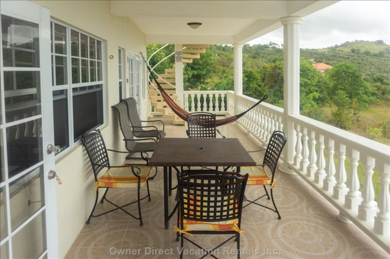 Second Floor Balcony Overlooking Pool and with Great Views - 2