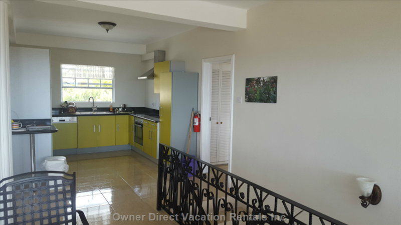 Kitchenette - Full Function on Second Floor, Convenient and Easy Access
