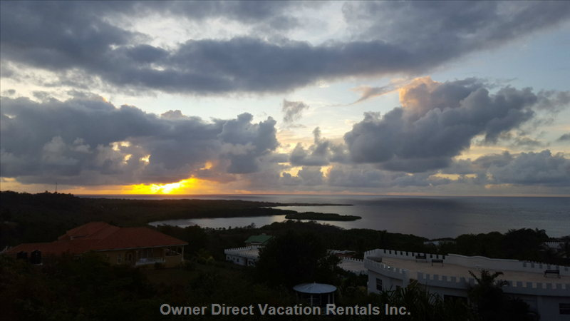 Sunrise from your Bedroom and Balcony