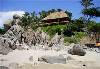 Beachfront with a Private Beach Property