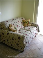 Sofa-bed in the Living Room