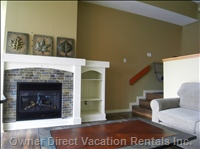 Gas Fireplace with 42 Inch Lcd TV