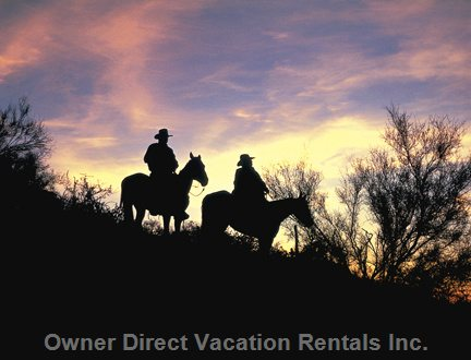 Beautiful Sunsets & Horseback Riding
