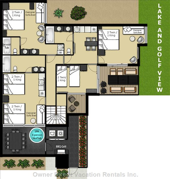 Floor Plans Calcavecchia & Mickelson Suites