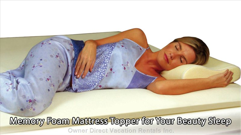Memory Foam Mattress Topper for your Beauty Sleep